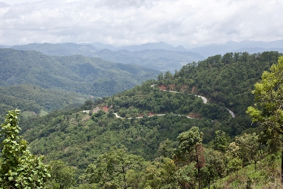 Drive Mae hong son loop