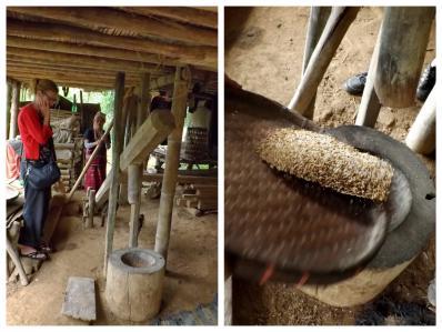 Karen hilltribe pounding rice 2_smeets_edit_Fotor_2pics_400