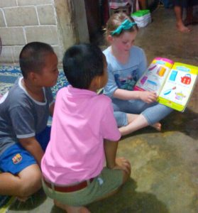 Homestay with children