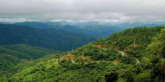 Mae Hong Son Loop road