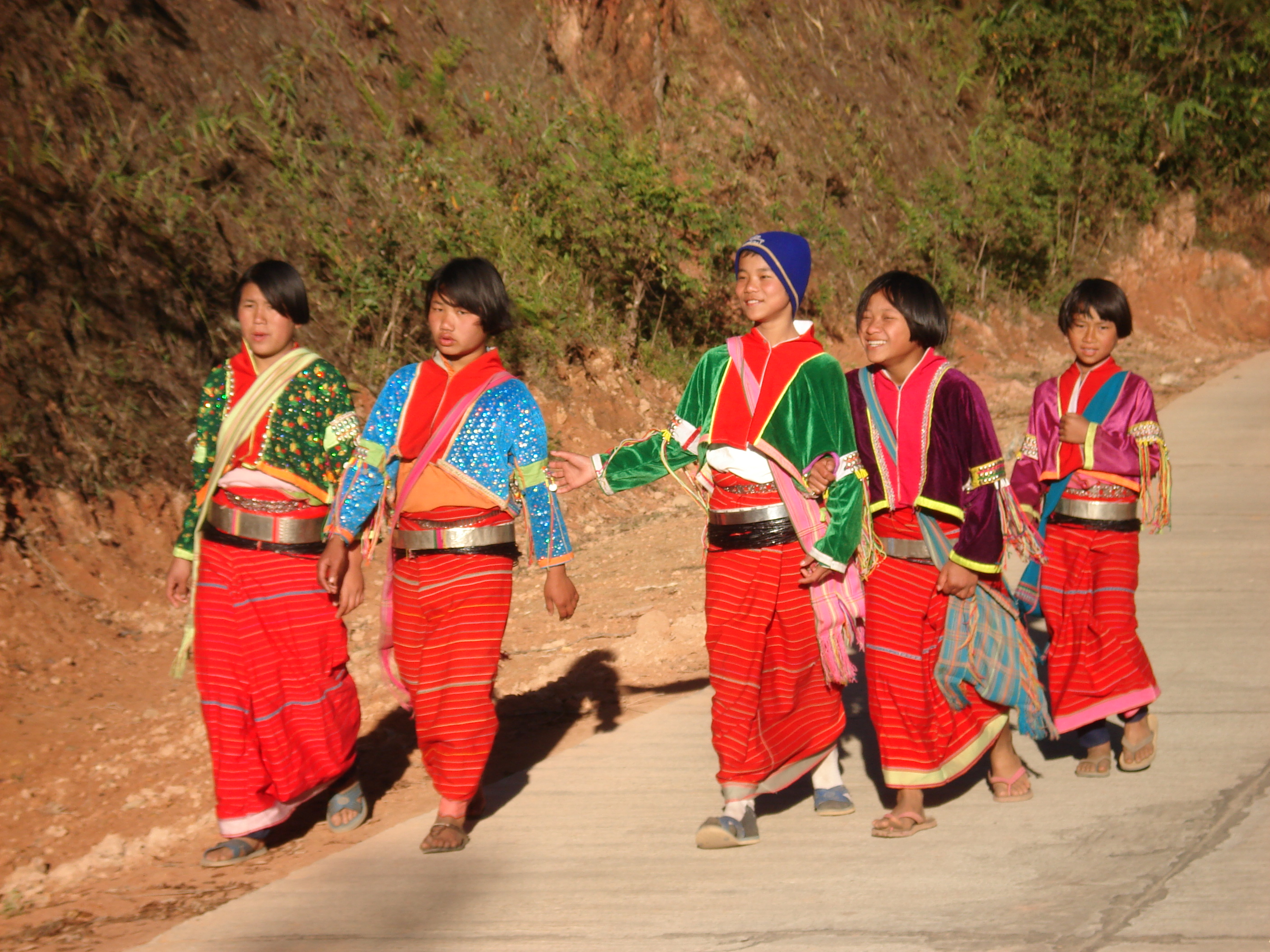 Palong Hilltribe, Doi Angkhang