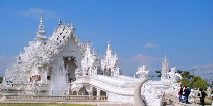 White temple, Chiang Mai to Chiang Rai Tour