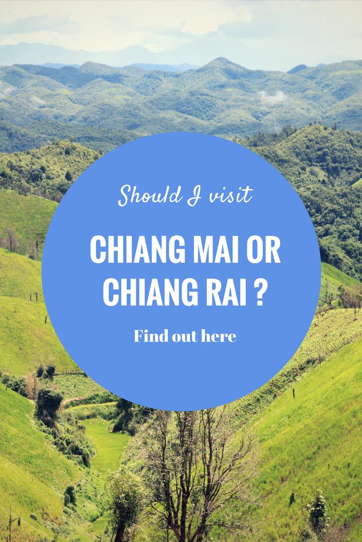 Chiang Mai vs Chiang Rai