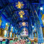 Blue Temple – Wat Rong Suea Ten – Chiang Rai