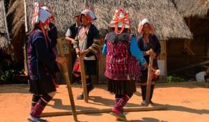 Ban Lorcha-  Akha hill tribe village