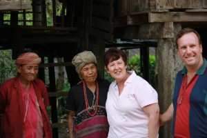 Karen hill tribe villagers