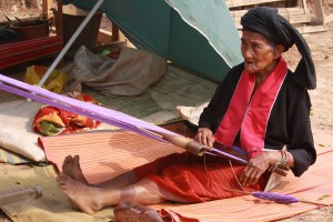 Paluang weaving Doi Angkhang