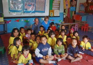 Karen hill tribe village school